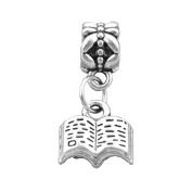 Bling Stars Lucky Charm Dangle Book Charms Beads Fit Pandora Bracelets