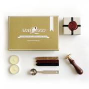 UNIQOOO Gift Idea Hogwarts Magic School Wax Seal Stamp Kit