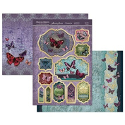 Hunkydory Flight of the Butterflies Jewelled Edition Dazzling Dreams - Topper Set