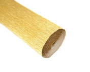 Italian Metalized Crepe Paper roll 180 gramme - 801 Gold
