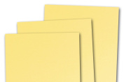Blank Basis Light Yellow 4x6 Flat Cards - 50 Pack