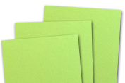 Blank Basis Light Lime 4x6 Flat Cards - 50 Pack