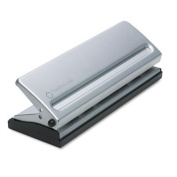 Four-Sheet Seven-Hole Punch for Classic Style Day Planner Pages, Metal, Sold as 2 Each