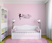Design with Vinyl Moti 2532 3 Decal Wall Sticker : Dance Is Life The rest is just Rehearsal Bedroom Quote Kids Teen Boy Girl Quote Colour