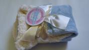 Stephan Baby Plush Sherpa Baby Blanket,