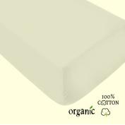 ORGANIC Cotton Crib Sheet by AB Lifestyles 52x28