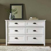 Better Homes and Gardens Lafayette Dresser, White Finish