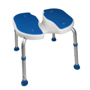 Padded Bath Safety Seat with hygienic cutout