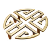 Semicircle Type Antique Cabinet Knobs Pull Euro-Style Furniture Solid Vintage Cupboard Closet Handles