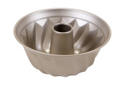 Art and Cook Non-Stick Carbon Steel Bundt Form Pan, 24cm , Champagne