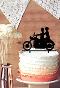 Kaishihui Motorcycle acrylic Cake Topper in many option for colour