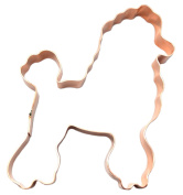 No. 1 Poodle Dog Copper Cookie Cutter