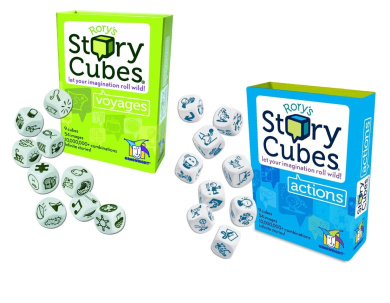 Rory's Story Cubes - Voyages with Rory's Story Cubes Actions
