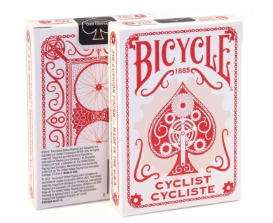 Bicycle Cyclist Red Poker Playing Cards