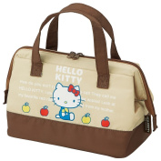 Skater Insulated Coin type lunch bag Size:M Hello Kitty 70s KGA1 from Japan