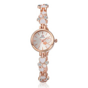 Wensltd Elegant Luxury Jewelery Women Bracelet Alloy Wrist Watch