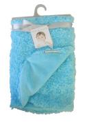 Blankets & Beyond Blue Swirl Blanket