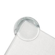 Cunina 8-pack Transparent Edge Guard, Furniture Guard, Baby Bumper, Corner Bumper