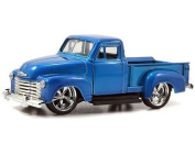 New 1:32 DISPLAY JUST TRUCKS - BLUE 1953 CHEVROLET PICKUP TRUCK Diecast Model Car By Jada Toys
