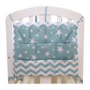 Cartoon Star Baby Bedside Nappy Bag Multilayer Pouch Storage Bag