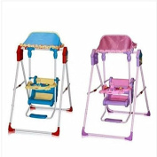 Great Gift ! Brand New Amazing Baby Swing Feeding Chair Space Saver (pink/blue/yellow) / Baby Toy Game Play Infant Toddler Kids Child Boys Girls Cool Unique Special Activity Educational Learning Smart Development Intelligence Motoric Friends Present Ou ..