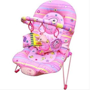 Great Gift ! Unisex Baby Rocker Bouncer Reclining Chair With Soothing Music Vibration & Toys / Baby Toy Game Play Infant Toddler Kids Child Boys Girls Cool Unique Special Activity Educational Learning Smart Development Intelligence Motoric Friends Pres ..