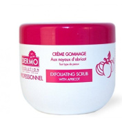 Dermo Evo - Professional Apricot Exfoliating Body Scrub 500ml - Great to use with your skin lightening products