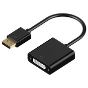 HANDSOME Displayport DP male to DVI Female Converter Video Adapter Cable 0.2M