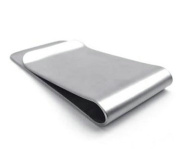 Jewellery,1 pc Stainless Steel Men's Money Clip,Silver,Father's Day Gift