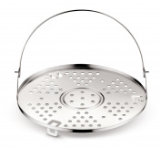 Lagostina Accessory for Pressure Cooker Grill, Stainless Steel, Diameter 22 cm, Capacity