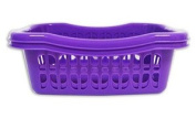 """Brights"" Pack of 4 Mini Storage Baskets perfect for keeping tidy in the home"