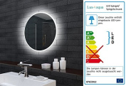 Bathroom Mirror Bathroom Mirror LED Light Round 60 cm MLE6602