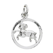 Basic 24,9019SWI Silver Women's Pendant Aries Star Sign 925 Sterling Silver
