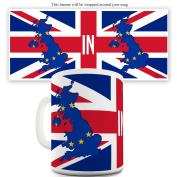 Twisted Envy Brexit In Ceramic Novelty Mug