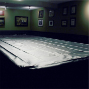 SPARTAN Heavy Duty Water Resistant Full Size Snooker Table Cover - 3.7m BLACK