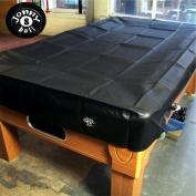 Jonny 8 Ball Heavy Duty Water Resistant Pool Table Cover - 1.8m BLACK