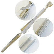 Instruments GB®-Acrylic Nail Pincher, Nail Magic wand, C Curve Cuticle Pusher, Nail Cleaner Multi Function Tool,