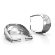 Pendant loop 925 sterling silver 8 mm charm carrier for jewellery making high quality fittings