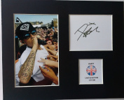 LIMITED EDITION DAPPY SIGNED DISPLAY PRINTED AUTOGRAPH AUTOGRAPH AUTOGRAF AUTOGRAM SIGNIERT SIGNATURE MOUNT FRAME