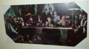 TV Gangsters Collage Scarface Goodfellas Godfather Sopranos Stretched & Mounted Canvas Art Print Brand New