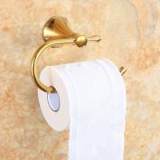 Konhard 6807BG Toilet Roll Holder Wall Mouted, Gold