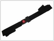 Wheelchair belt, safety belt with metal buckle