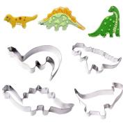 Dinosaur Steel Cookie Cutter Fondant Cutter Set