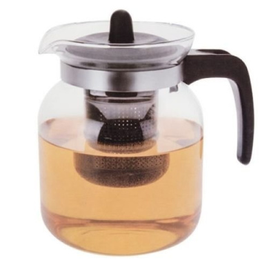 Large 1.5 Ltr Glass Infusion Teapot Tea Pot Infuser Contemporary Kitchen Design