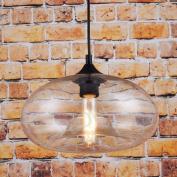 Glass Vintage Pendant Light Hanging Ceiling Light Transparent