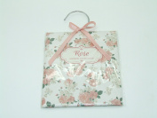 Scented Wardrobe Hanger - Scented Sachet in - Rose Scent