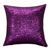 Glitter Sequins Cushion Cover