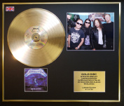 METALLICA/CD GOLD DISC & PHOTO DISPLAY/LTD. EDITION/COA/RIDE THE LIGHTNING