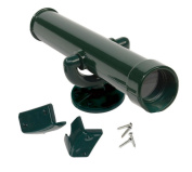 Garden Games Toy Telescope for Children's Climbing Frame or Playhouse (Green) with Fixing Kit