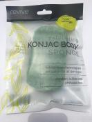 Konjac Green Tea Exfoliating Body Sponge